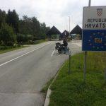 Die Grenze nach Kroatien