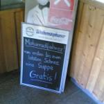 Gratis-Suppe