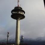 Der Turm bei Abfahrt
